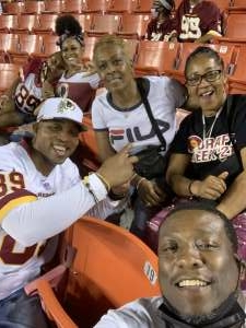 DeMar attended Washington Football Team vs. Baltimore Ravens - NFL on Aug 28th 2021 via VetTix