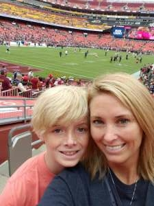 AJ attended Washington Football Team vs. Baltimore Ravens - NFL on Aug 28th 2021 via VetTix