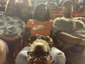 Bea Vaughn attended Washington Football Team vs. Baltimore Ravens - NFL on Aug 28th 2021 via VetTix