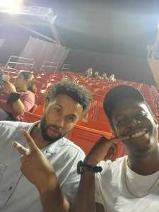 Cordero attended Washington Football Team vs. Baltimore Ravens - NFL on Aug 28th 2021 via VetTix