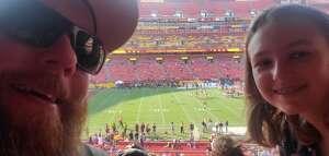 Speaks05 attended Washington Football Team vs. Baltimore Ravens - NFL on Aug 28th 2021 via VetTix