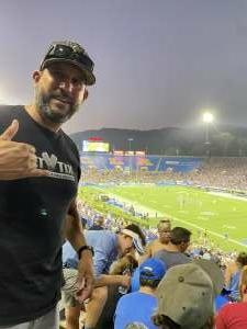 Raul attended UCLA Bruins vs. LSU - NCAA Football on Sep 4th 2021 via VetTix