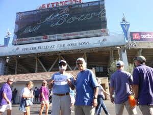 David attended UCLA Bruins vs. LSU - NCAA Football on Sep 4th 2021 via VetTix