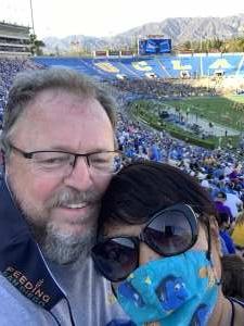 Marc & Susie attended UCLA Bruins vs. LSU - NCAA Football on Sep 4th 2021 via VetTix