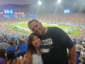 Devon attended UCLA Bruins vs. LSU - NCAA Football on Sep 4th 2021 via VetTix