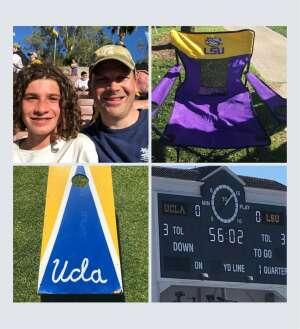Jared attended UCLA Bruins vs. LSU - NCAA Football on Sep 4th 2021 via VetTix