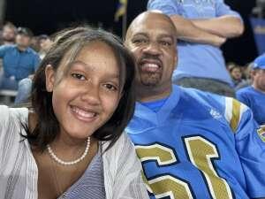 Leroy Cloud attended UCLA Bruins vs. LSU - NCAA Football on Sep 4th 2021 via VetTix