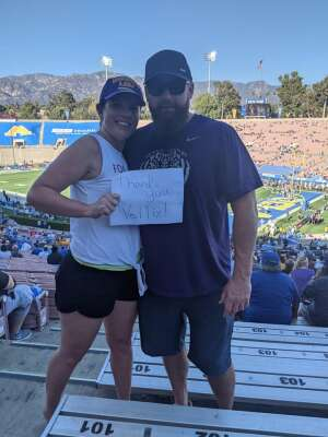 Daniel attended UCLA Bruins vs. LSU - NCAA Football on Sep 4th 2021 via VetTix