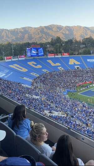 Davondrion Compton attended UCLA Bruins vs. LSU - NCAA Football on Sep 4th 2021 via VetTix