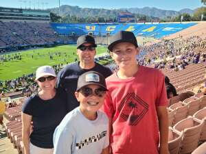 Chad T. attended UCLA Bruins vs. LSU - NCAA Football on Sep 4th 2021 via VetTix