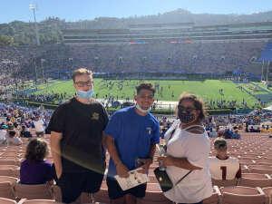 Ron attended UCLA Bruins vs. LSU - NCAA Football on Sep 4th 2021 via VetTix