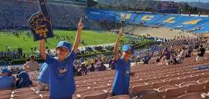 Rick attended UCLA Bruins vs. LSU - NCAA Football on Sep 4th 2021 via VetTix