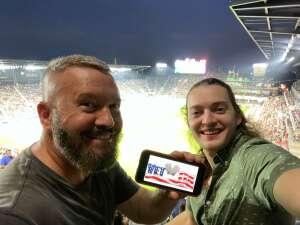 CJ McCrea attended DC United vs. Philadelphia Union - MLS on Aug 28th 2021 via VetTix