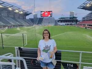 Jennifer attended DC United vs. Philadelphia Union - MLS on Aug 28th 2021 via VetTix