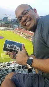 Vic attended DC United vs. Philadelphia Union - MLS on Aug 28th 2021 via VetTix