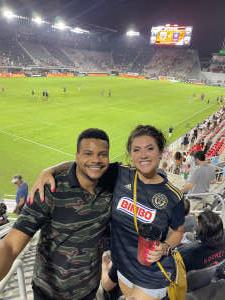 LNW attended DC United vs. Philadelphia Union - MLS on Aug 28th 2021 via VetTix