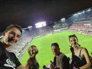 Carrie  attended DC United vs. Philadelphia Union - MLS on Aug 28th 2021 via VetTix