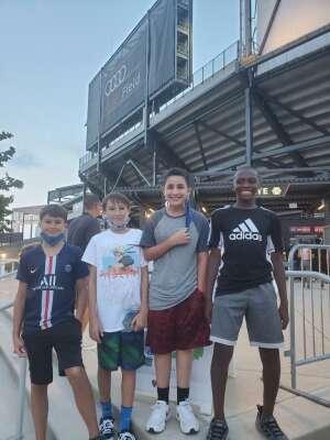 Rico attended DC United vs. Philadelphia Union - MLS on Aug 28th 2021 via VetTix
