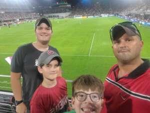 Rusty attended DC United vs. Philadelphia Union - MLS on Aug 28th 2021 via VetTix