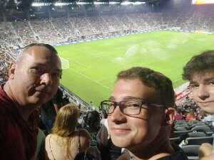 Kevin attended DC United vs. Philadelphia Union - MLS on Aug 28th 2021 via VetTix