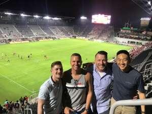 Craig K. attended DC United vs. Philadelphia Union - MLS on Aug 28th 2021 via VetTix