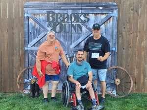 REA attended Brooks & Dunn Reboot 2021 Tour on Sep 3rd 2021 via VetTix