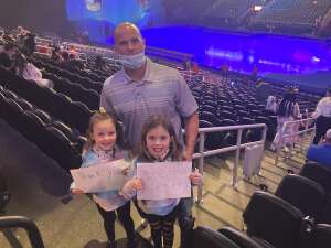 Martin attended Disney on Ice Presents Mickey's Search Party on Sep 23rd 2021 via VetTix