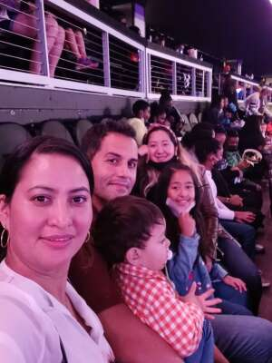 Archie Martinez attended Disney on Ice Presents Mickey's Search Party on Sep 23rd 2021 via VetTix