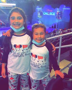 Kleonard attended Disney on Ice Presents Mickey's Search Party on Sep 23rd 2021 via VetTix