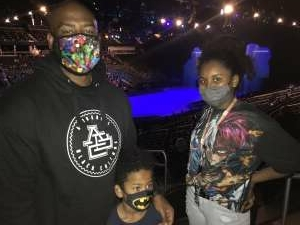 Dominique attended Disney on Ice Presents Mickey's Search Party on Sep 23rd 2021 via VetTix