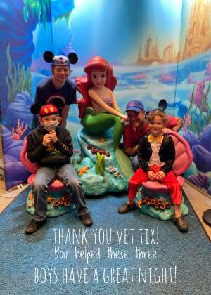 Andrew attended Disney on Ice Presents Mickey's Search Party on Sep 23rd 2021 via VetTix