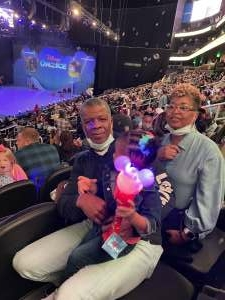 David  attended Disney on Ice Presents Mickey's Search Party on Sep 23rd 2021 via VetTix