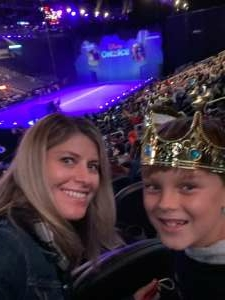 Kelley attended Disney on Ice Presents Mickey's Search Party on Sep 23rd 2021 via VetTix
