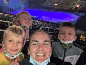 Kristin DeFranco attended Disney on Ice Presents Mickey's Search Party on Sep 23rd 2021 via VetTix