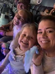 Josh attended Disney on Ice Presents Dream Big on Sep 23rd 2021 via VetTix