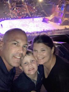 Josh Smith attended Disney on Ice Presents Dream Big on Sep 23rd 2021 via VetTix
