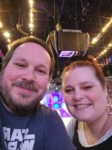 Neal attended Disney on Ice Presents Dream Big on Sep 23rd 2021 via VetTix