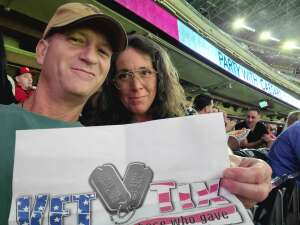 Mike Billing attended Houston Texans vs. Tampa Bay Buccaneers - NFL on Aug 28th 2021 via VetTix