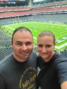 David T attended Houston Texans vs. Tampa Bay Buccaneers - NFL on Aug 28th 2021 via VetTix
