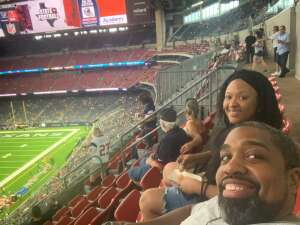 Kings Scott attended Houston Texans vs. Tampa Bay Buccaneers - NFL on Aug 28th 2021 via VetTix