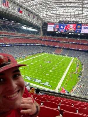 Tim Murphy  attended Houston Texans vs. Tampa Bay Buccaneers - NFL on Aug 28th 2021 via VetTix