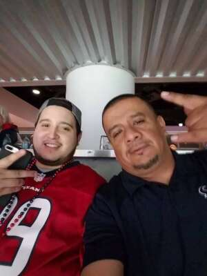 Adam attended Houston Texans vs. Tampa Bay Buccaneers - NFL on Aug 28th 2021 via VetTix