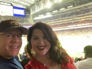 Jonathan Merrill attended Houston Texans vs. Tampa Bay Buccaneers - NFL on Aug 28th 2021 via VetTix