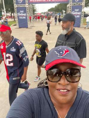 Wil B attended Houston Texans vs. Tampa Bay Buccaneers - NFL on Aug 28th 2021 via VetTix