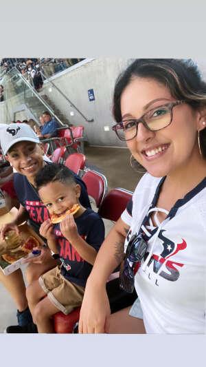 Sam  attended Houston Texans vs. Tampa Bay Buccaneers - NFL on Aug 28th 2021 via VetTix