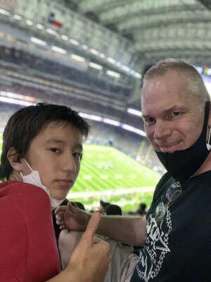 Erik attended Houston Texans vs. Tampa Bay Buccaneers - NFL on Aug 28th 2021 via VetTix