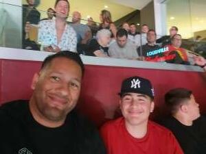 Aguado attended Jake Paul vs. Tyron Woodley - Boxing Event on Aug 29th 2021 via VetTix