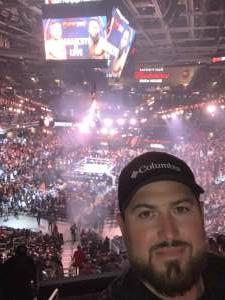 Jake attended Jake Paul vs. Tyron Woodley - Boxing Event on Aug 29th 2021 via VetTix