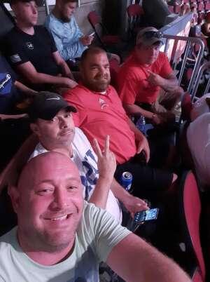 Roger attended Jake Paul vs. Tyron Woodley - Boxing Event on Aug 29th 2021 via VetTix