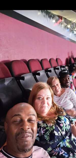 Missy attended Jake Paul vs. Tyron Woodley - Boxing Event on Aug 29th 2021 via VetTix